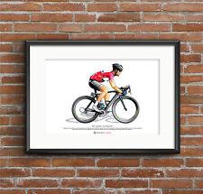 Mark Cavendish-Giro d'Italia 2013 art poster format a3