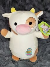 Nwt Squishmallow 14� Drella Cow KellyToy Hug Mees Plush Toy 2021 Easter Egg Htf