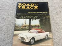 1960 VW Volkswagen Beetle Road Test Road and Track  Magazine