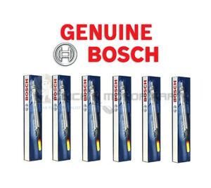 BMW 5 SERIES E60 E61 535 D 535D 2004-2007 6 X BOSCH DIESEL HEATER GLOW PLUGS SET