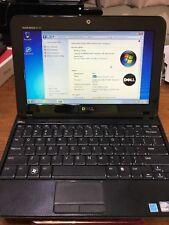 "Dell inspiron mini 1018 10.1"" 160gb hd 1gb ram Windows 7 w/built in webcam"