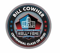 BILL COWHER 2020 CENTENNIAL PIN HALL OF FAME PITTSBURGH STEELERS PATCH IN STORE