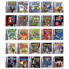 Los mejores Nintendo Gameboy Advance/GBA juegos-también para gb & GBC-solo módulo