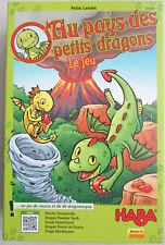 Jeu de société Au pays des petits dragons / Felix Leicht / Haba 2 à 4 joueurs 3+