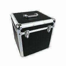 Oypla 3836A2P Aluminium Flight Case - Black