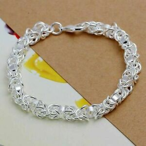 925 Silver Fashion Bracelet Jewelry Classic Bracelet + Free Gift Bag Included