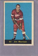 1960-61 PARKHURST #61 JIM MORRISON DETROIT RED WINGS
