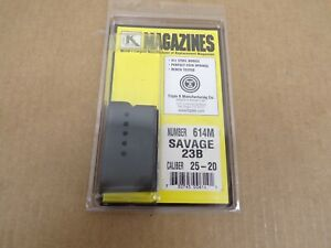 Savage Model 23B 25-20 Caliber Magazine by Triple K #614M
