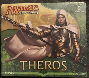 Theros Magic The Gathering Fat Pack Box Sealed NEW Free Shipping