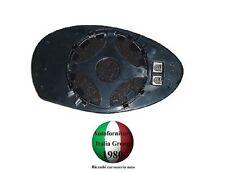 PIASTRA+VETRO SPECCHIO RETROVISORE TERM ASFER SX ALFA ROMEO 147 00>10 2000>2010