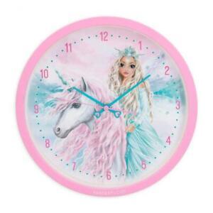 Depesche Fantasy Model Wanduhr Uhr Icefriends  Einhorn Topmodel Pferd