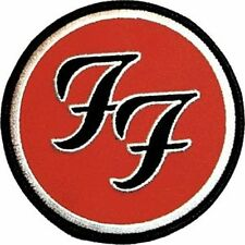 Foo Fighters Logo - Embroidered Patch - Brand New - Music Band 0392