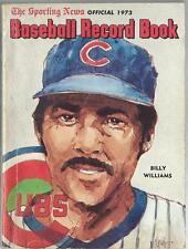 1973 Sporting News Baseball Record Book Billy Williams Chicago Cubs