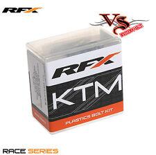 RFX Series Plastic Fastener Kit KTM SX125 SX150 SX250 SXF250 SXF350 SXF450 11-16