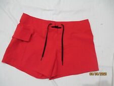 WATER SAFETY PRODUCTS ladies LIFEGUARD board short swim size small LK NU