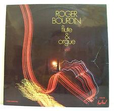 """33 tours Roger BOURDIN Disque Vinyl LP 12"""" FLUTE ORGUE Vol. 1 -FESTIVAL 480 Rare"""