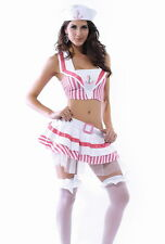 Sexy Women's Love Boat Sunset Sailor Fancy Dress Costume Outfit