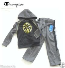 NWT Sz. 4 Years  CHAMPION Boys Performance Hooded Jacket/Hoodie & Pant Set