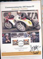 565291 / Motorrad Beleg Autogramm John Mc Guiness