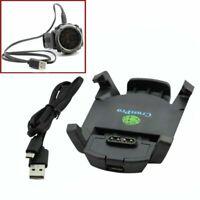 Ladegerät Ladekabel Datenkabel Dock Cradle + USB Kabel für Garmin Fenix 3 GPS