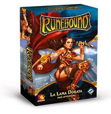 Runebound: La Lama Dorata, Pack Avventura, Nuovo by Asmodée, Edizione Italiana