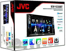 JVC KW-V230BT DVD/CD/MP3/Bluetooth/Pandora/SiriusXM New KWV230BT Car Stereo