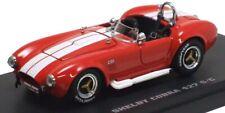 1:43 Kyosho Shelby Cobra 427/C red w/ white stripes KYO3016RW