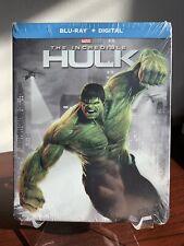 The Incredible Hulk Steelbook (Blu-ray/Digital Copy,  2018) Factory Sealed