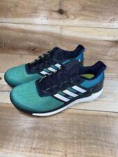 Adidas Mens Supernova Boost Athetic Running Shoes Green CG4023 Sz 9