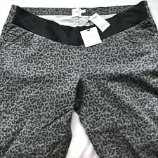 asos maternity jeans Size 22 Plus Size  Leopard Print Grey Denim