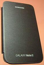 Samsung Galaxy Note II Flip Cover Case, Titanium Gray, Gloss back, Matte Flip