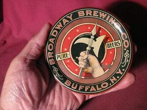 Scarce Pre Prohibition Broadway Brewing Co Buffalo N.Y. Tip Tray (as is)