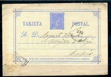 1875.ESPAÑA.ENTERO POSTAL.EDIFIL 8(o).USADO.CATALOGO 7€