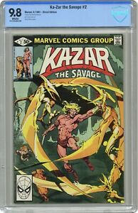 Ka-Zar the Savage #2 CBCS 9.8 1981