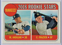 Clint Frazier/Miguel Andujar 2018 Topps Heritage #114 RC Yankees
