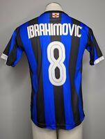Ibrahimovic 8 Inter Milan 100th Anniversary Home Jersey Sz S Soccer Football