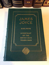 Dubliners & A Portrait of the Artist as a Young Man by James Joyce - leather