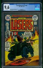 Our Fighting Forces #148 (1974) CGC Graded 9.6 ~ Joe Kubert Cover ~ DC Comics