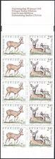 Sweden 1992 Roe Deer/Buck/Animals/Wildlife/Nature/Conservation 10v bklt (b6820s)