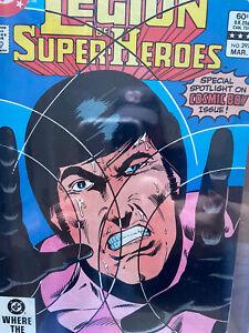 Legion of Super Heroes #297  CGC 9.8 1983 DC Comic: Cosmic Boy. 0778024018