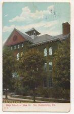 High School of Vine Street BETHLEHEM PA Vintage Pennsylvania Postcard