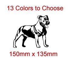 STAFFI (Staffordshire Bull Terrier) GLOSS Vinile Auto Adesivo Decalcomania Grafica