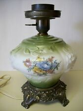 """Vintage Accurate Casting Lamp """"GWTW"""" Lamp Model A4181 Raised Roses 3D"""