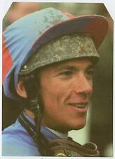 Scarce Trade Card of Franki Dettori, Horse Racing 1997