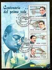 2003 FOGLIETTO PIONIERI ANNULLO SPECIALE PRIMO GIORNO CORI - ED