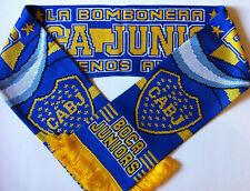 Boca Junior bufandas de fútbol Nuevo De Lujo Suave Acrílico Yarns