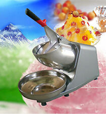 110/220V Eu/Us Electric Ice Shaver Crusher Machine Snow Cone Maker Shaved Icee