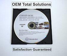 2014 Update Mercedes Comand MCS2 Navigation DVD MAP Data Disc USA Canada Map