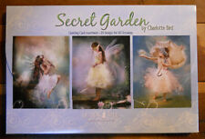 20 Leanin Tree Greeting Cards SECRET GARDEN, FAIRIES All Occasion Assorted