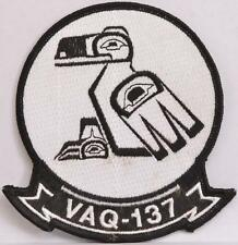 US Navy Patch VAQ 137 Rooks Electronic Attack Squadron Air Station Whidbey WA